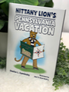 """NITTANY LIONS PENNSYLVANIA VACATION"" BOOK"