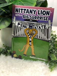 """NITTANY LION GETS A BIG SURPRISE"" BOOK"