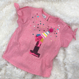 FIRST BIRTHDAY GIRL SHIRT