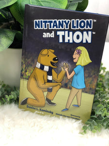 """NITTANY LION AND THON"" BOOK"
