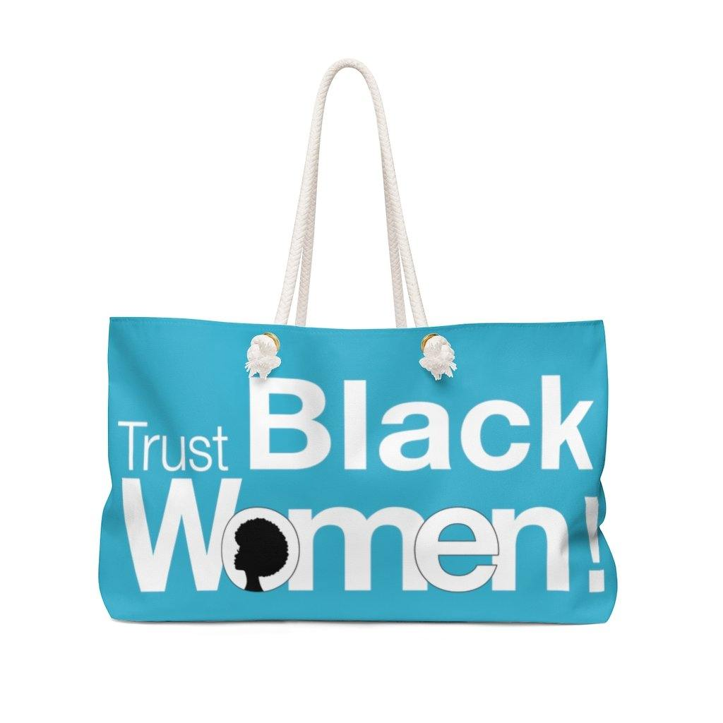 Limited Edition Trust Black Women Weekender Bag - Black Love Boutique