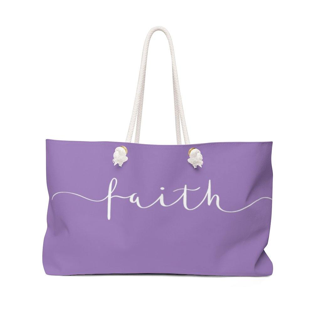 Limited Edition Faith Weekender Bag - Black Love Boutique