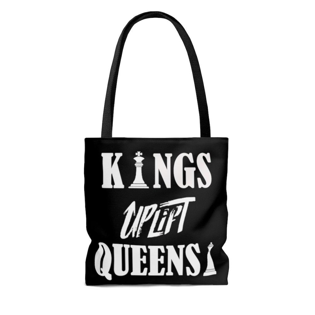 Limited Edition Dual Message Tote Bag - Black Love Boutique