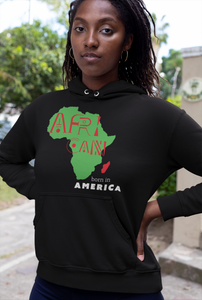 Limited Edition African Born In America Hoodie - Black Love Boutique