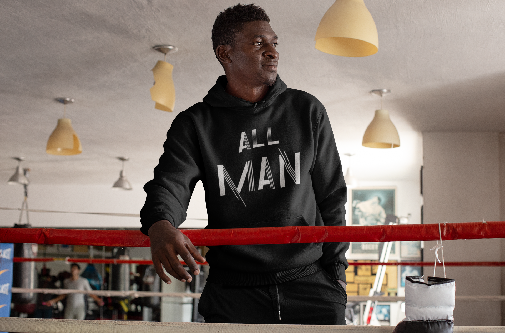 Limited Edition All Man Hoodie - Black Love Boutique
