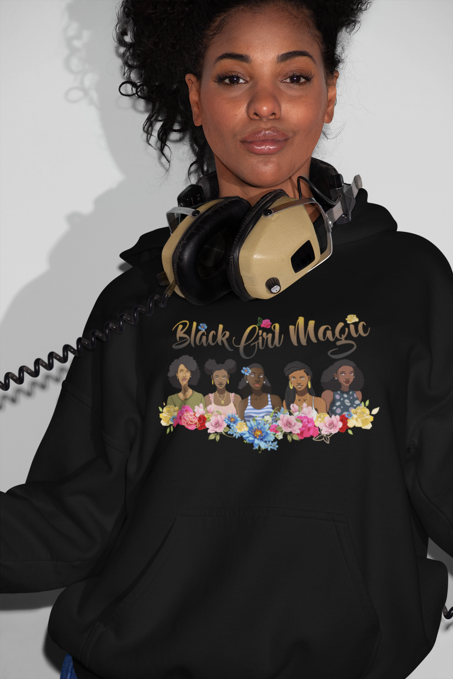 Limited Edition Black Girl Magic 2 Hoodie - Black Love Boutique