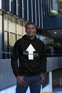 Limited Edition Black Excellence Hoodie - Black Love Boutique