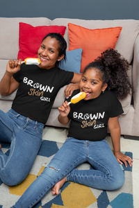 Limited Edition Brown Skin Girl Youth T-Shirt