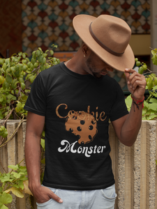 Limited Edition Cookie Monster T-Shirt - Black Love Boutique