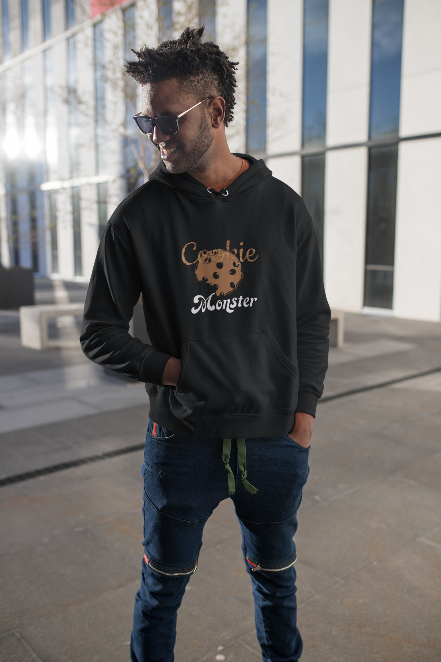 Limited Edition Cookie Monster Hoodie - Black Love Boutique