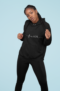 Limited Edition Faith Hoodie - Black Love Boutique