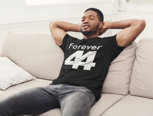 Limited Edition Forever 44 T-Shirt - Black Love Boutique