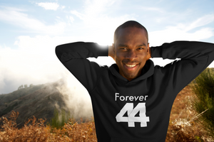 Limited Edition Forever 44 Hoodie - Black Love Boutique