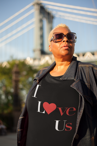 Limited Edition I Love Us T-Shirt - Black Love Boutique