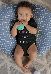 Limited Edition Love Thy Self Onesie - Black Love Boutique
