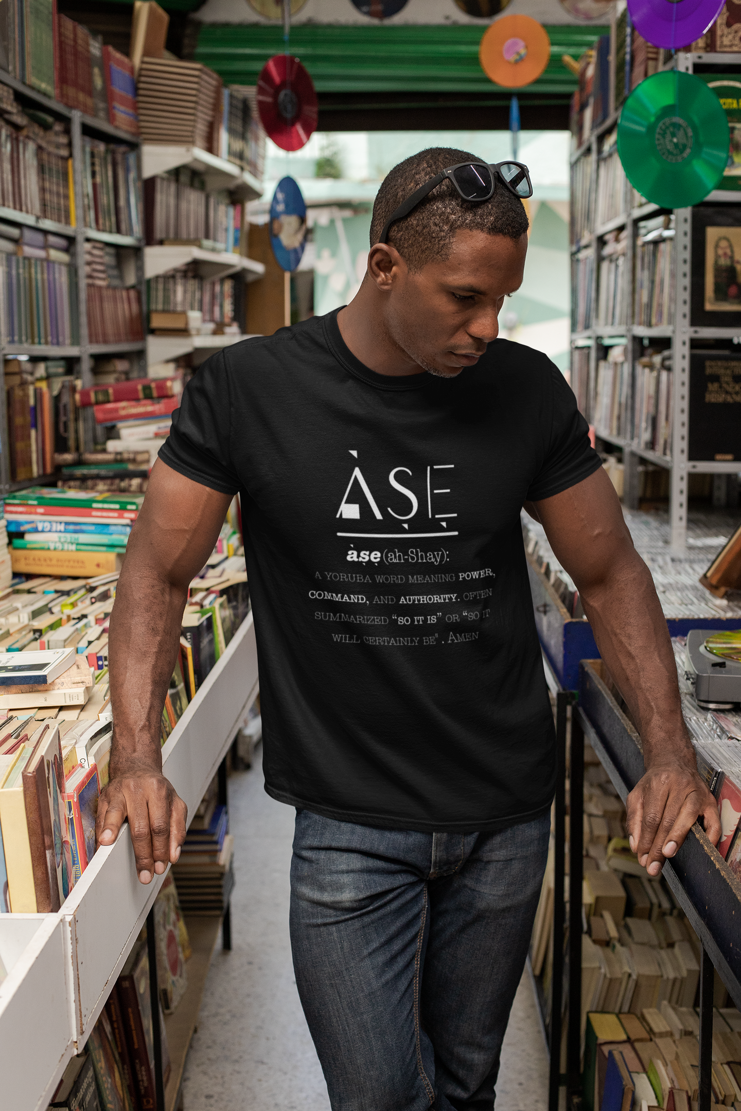 Limited Edition Ase T-Shirt - Black Love Boutique