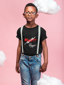 Limited Edition Mighty Prince Red Youth T-Shirt - Black Love Boutique