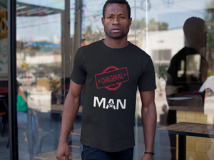 Limited Edition Original Man T-Shirt - Black Love Boutique