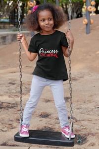 Limited Edition Princess Power Toddler Tee - Black Love Boutique