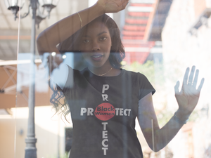 Limited Edition Protect Black Women T-Shirt