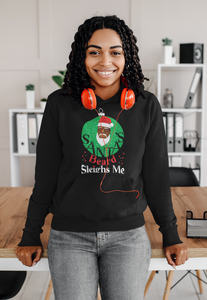 Limited Edition Santa's Beard Sleighs Me Hoodie - Black Love Boutique
