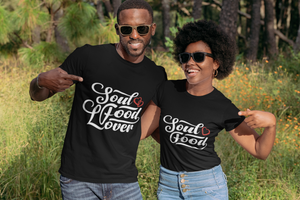 Limited Edition Soul Food Heart T-Shirt - Black Love Boutique