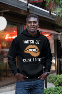 Limited Edition Watch Out Cause I Bite Hoodie - Black Love Boutique