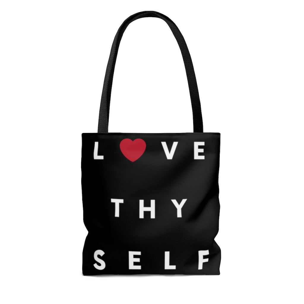 Limited Edition Love Thy Self Tote Bag - Black Love Boutique