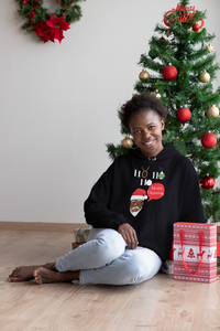 Limited Edition Ho Ho Ho Hoodie - Black Love Boutique
