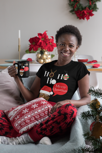 Limited Edition Ho Ho Ho 11oz Mug - Black Love Boutique