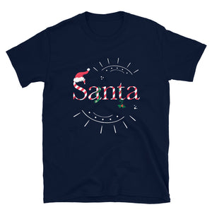Limited Edition Santa T-Shirt - Black Love Boutique