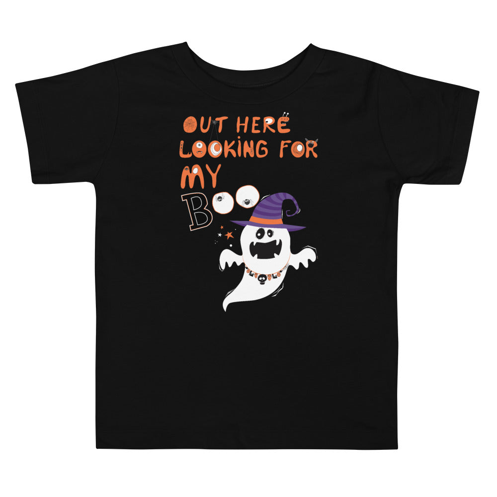 Limited Edition Out Here Looking For My Boo Toddler Tee - Black Love Boutique