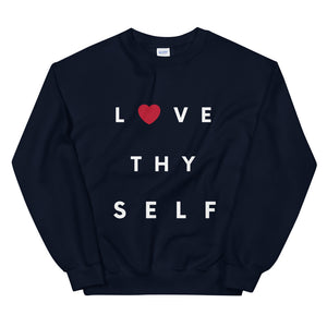 Limited Edition Love Thy Self Sweatshirt - Black Love Boutique