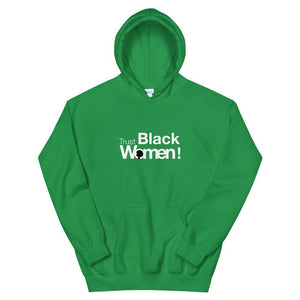 Limited Edition Trust Black Women Hoodie - Black Love Boutique