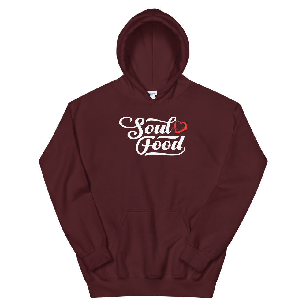 Limited Edition Soul Food Heart Hoodie - Black Love Boutique