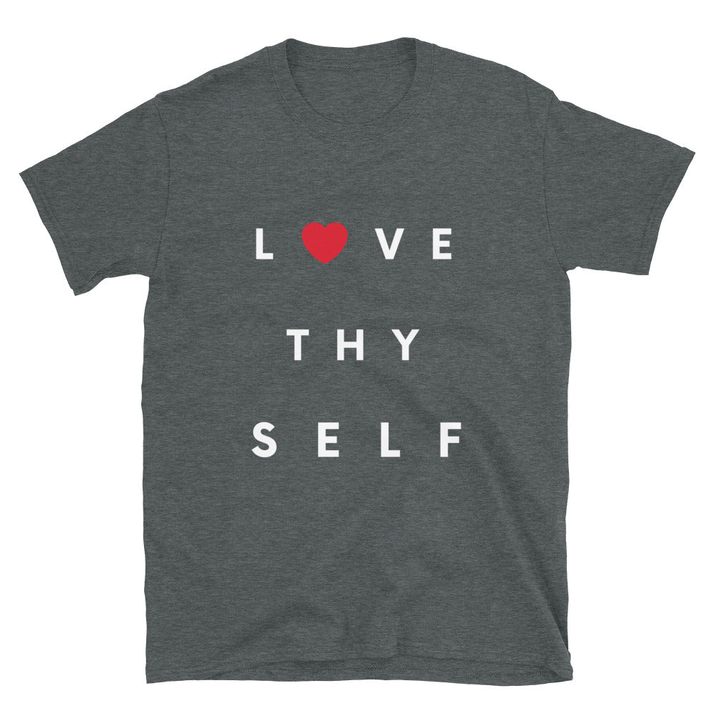 Limited Edition Love Thy Self T-Shirt - Black Love Boutique
