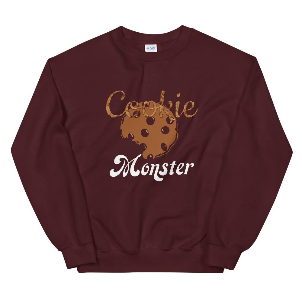 Limited Edition Cookie Monster Sweatshirt - Black Love Boutique