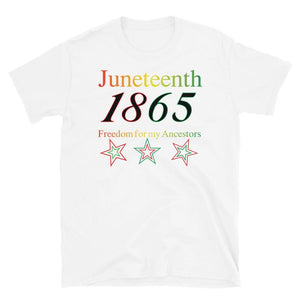 Limited Edition Juneteenth T-Shirt - Black Love Boutique