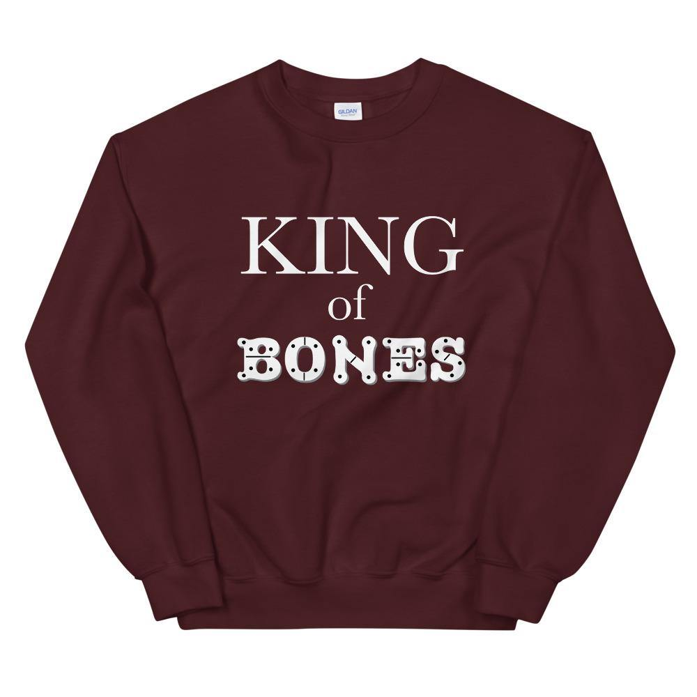 Limited Edition King Of Bones Sweatshirt - Black Love Boutique