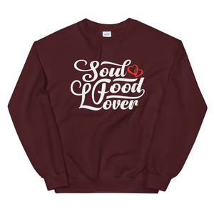 Limited Edition Soul Food Lover Heart Sweatshirt - Black Love Boutique