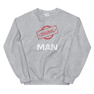 Limited Edition Original Man Sweatshirt - Black Love Boutique