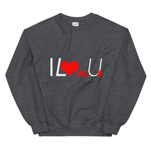 Limited Edition I Love Us Sweatshirt - Black Love Boutique