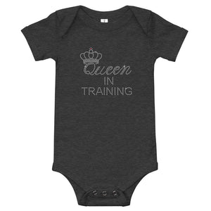 Limited Edition Queen In Training Onesie - Black Love Boutique