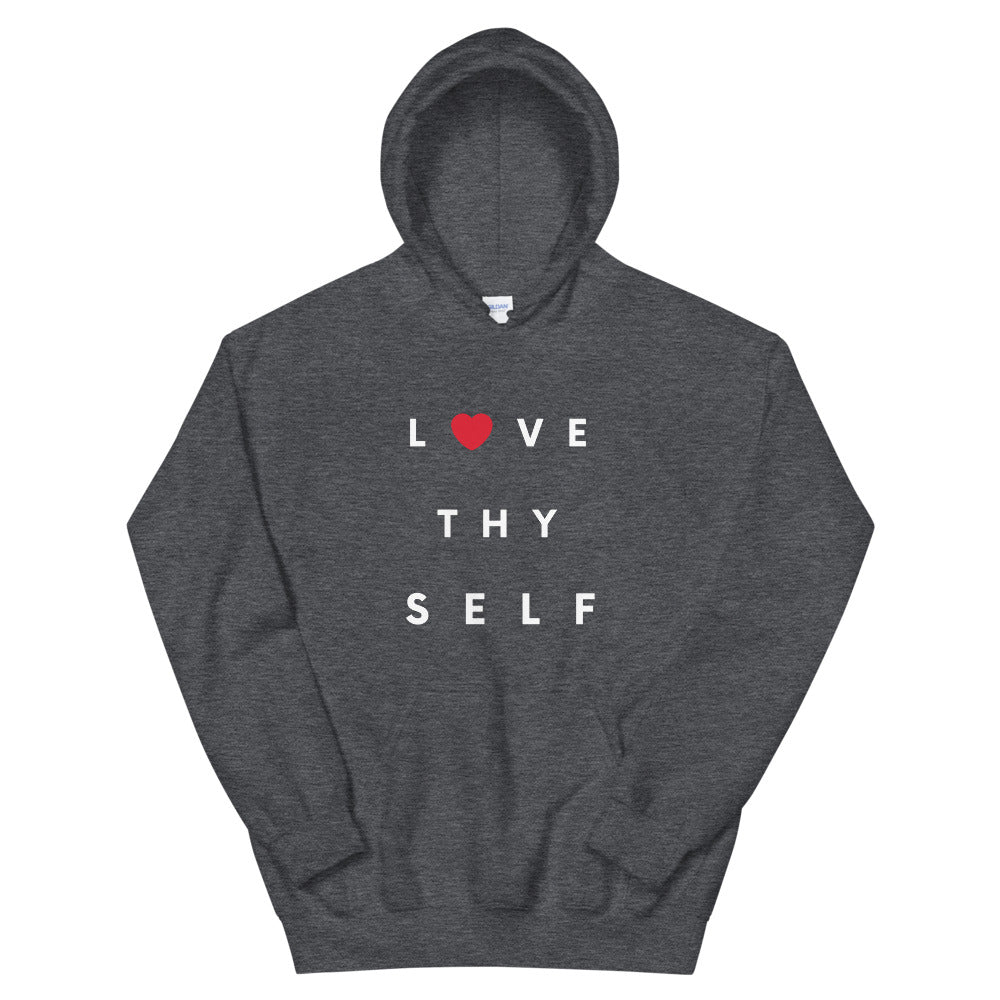 Limited Edition Love Thy Self Hoodie - Black Love Boutique