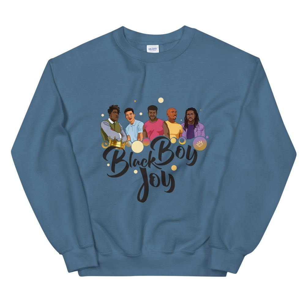 Limited Edition Black Boy Joy Sweatshirt - Black Love Boutique
