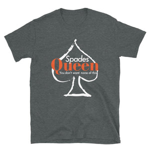 Limited Edition Spades Queen T-Shirt - Black Love Boutique
