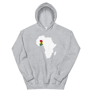 Limited Edition Ghana Hoodie - Black Love Boutique