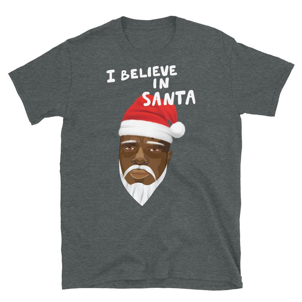 Limited Edition I Believe In Santa T-Shirt - Black Love Boutique