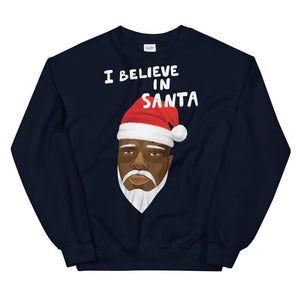 Limited Edition I Believe In Santa Sweatshirt - Black Love Boutique