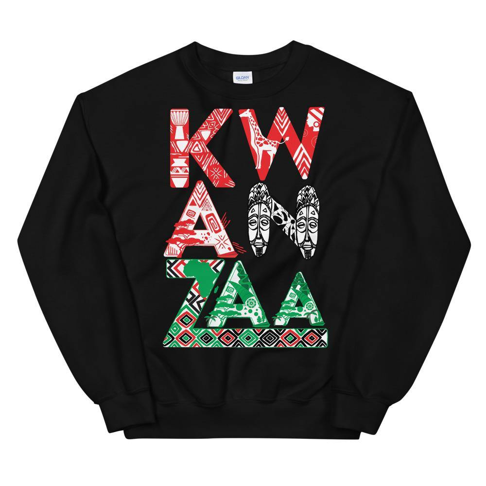 Limited Edition Kwanzaa Sweatshirt - Black Love Boutique